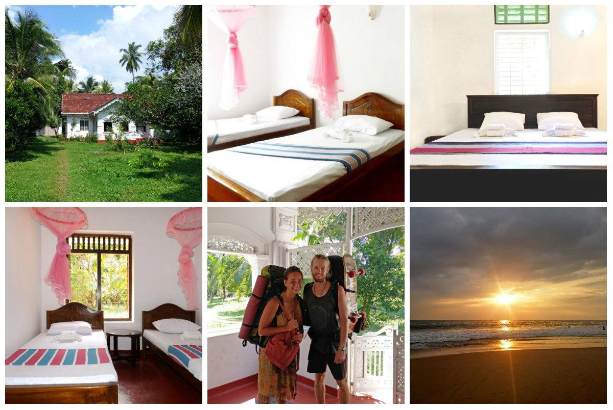 Rooms in Hikkaduwa, villa for rent in Sri Lanka